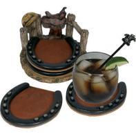 Подстаканники Riversedge Horseshoe Coaster Set 4 шт. (18350089)