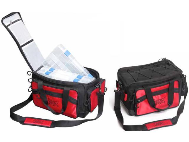 сумка lucky john advanced tackle bag видео