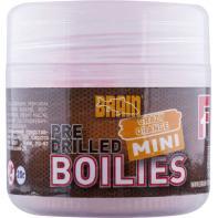 Бойлы Brain Crazy Orange (апельсин) pre drilled mini boilies 10 mm 20 gr (18580232)