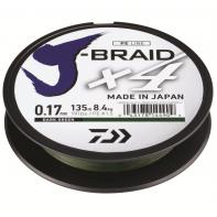 Шнур Daiwa J-Braid X4E 0,13mm dark-green (12741-013)