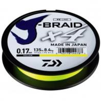 Шнур Daiwa J-Braid X4E 0,07mm yellow (12740-007)